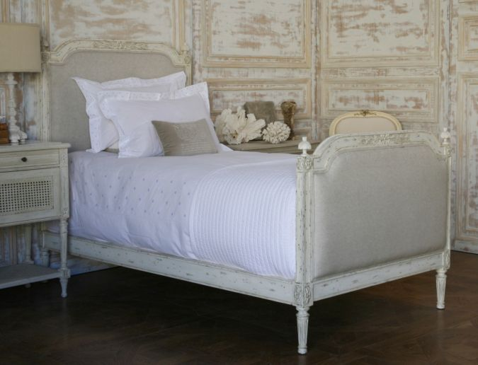 french twin bed  simple things blog, Headboard designs