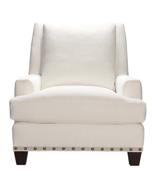 The Chair Pictured Is The Lee Industries 3700 01, A Classic In White.