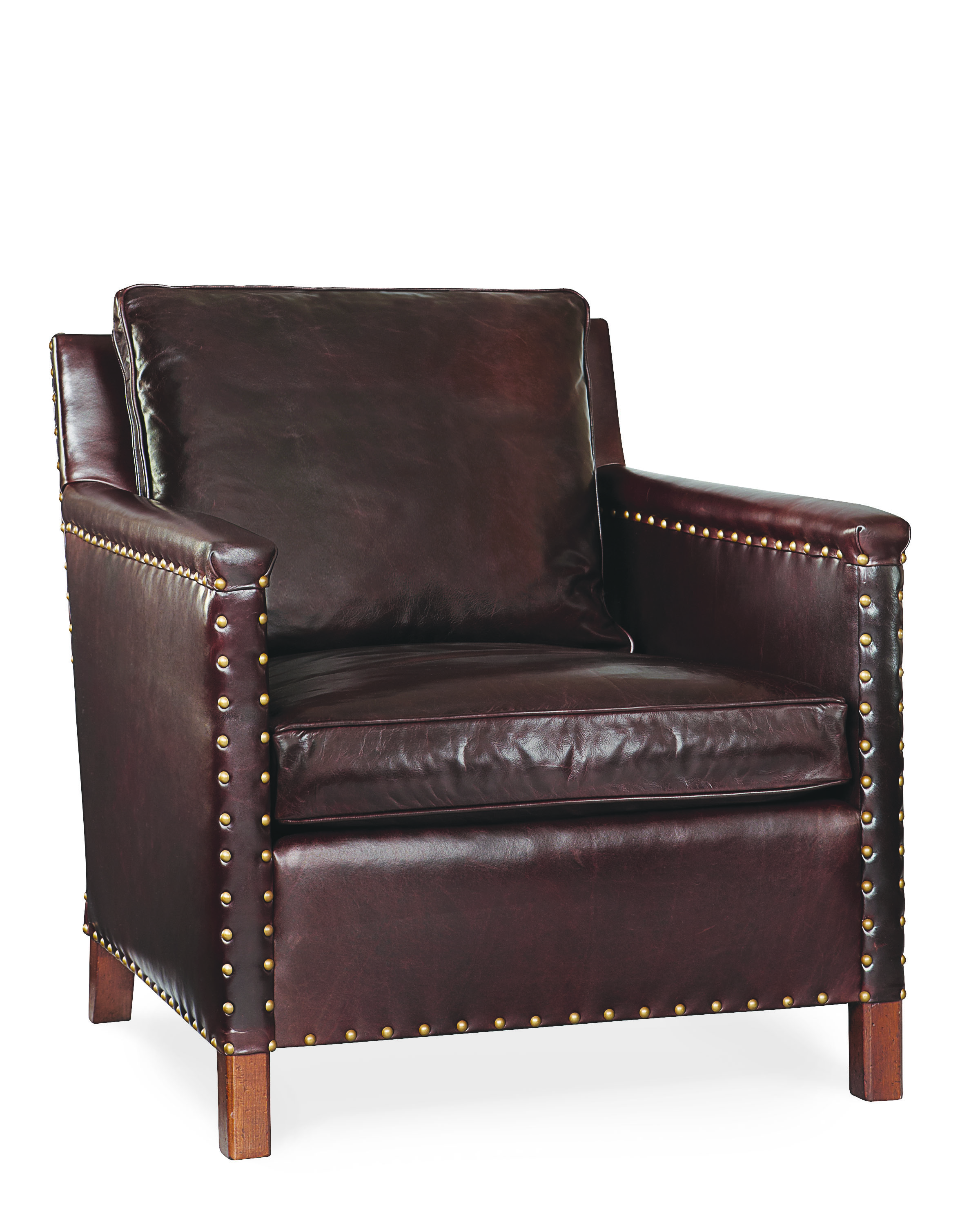 Leather Chair With Nailhead Simple Things Blog