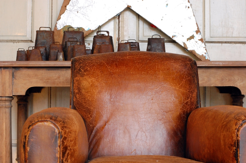 leather.chair.cowbells