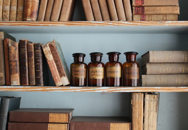 brown.bottles.shelf